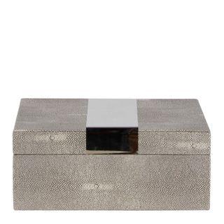 Lennox Box Large Dappled Grey