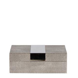 Lennox Box Small Dappled Grey