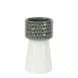 Marley Ceramic Vase Grey Large