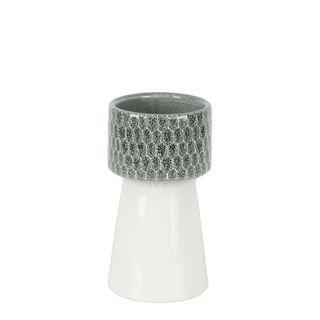 Marley Ceramic Vase Grey Small