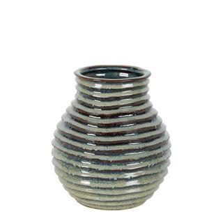 Jojo Ceramic Vase Grey