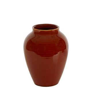 Carmen Ceramic Vase Caramel Small