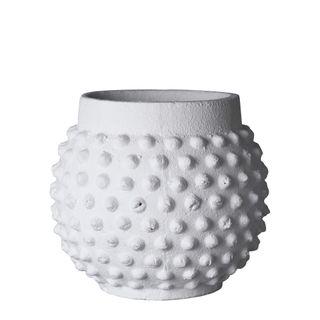 Kalahari Round Planter Pot Large White