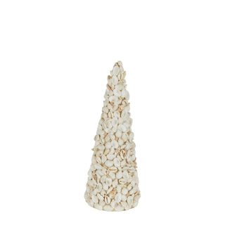 PRE-ORDER Decorative Shell Christmas Tree Small