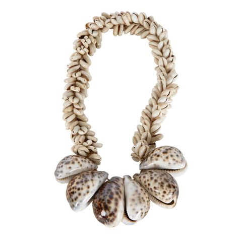 PRE-ORDER Tiger Cowry Natural Shell Garland