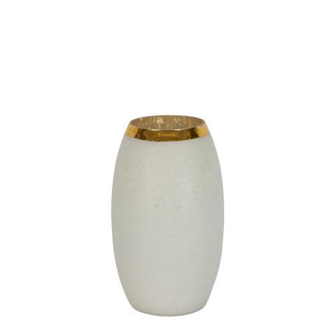 PRE-ORDER Moondance Glass Vase Short White
