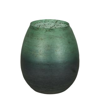 PRE-ORDER Juniper Glass Vase Short Green