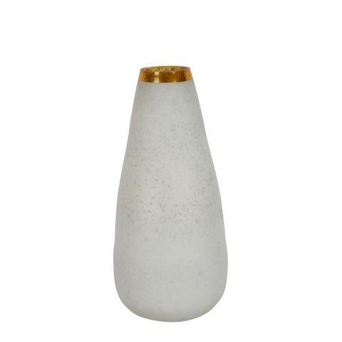 PRE-ORDER Moondance Glass Vase Tall White