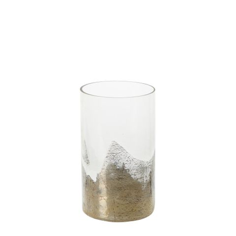 PRE-ORDER Marnie Glass Vase Gold Small