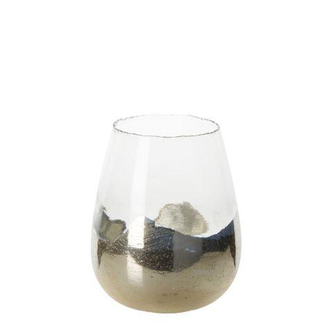 PRE-ORDER Vala Glass Vase Gold Large