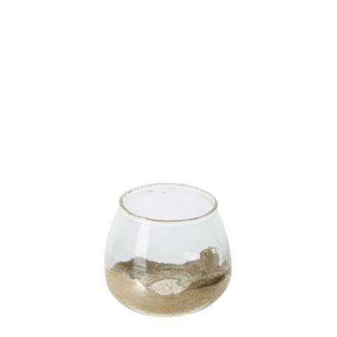 PRE-ORDER Vala Glass Vase Gold Small