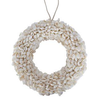 PRE-ORDER Sea Shell Wreath White