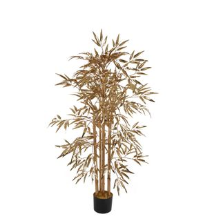Bamboo Tree 520 Leaves Metallic Gold