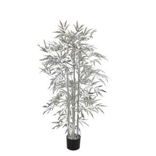 Bamboo Tree 520 Leaves Metallic Silver