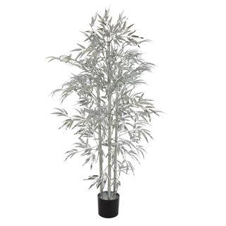 Bamboo Tree 880 Leaves Metallic Silver
