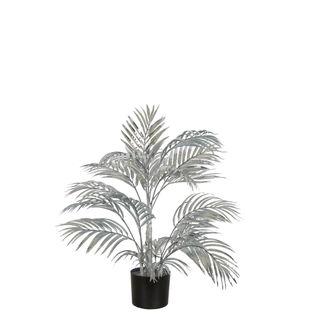 Areca Palm 335 Leaves Metallic Silver