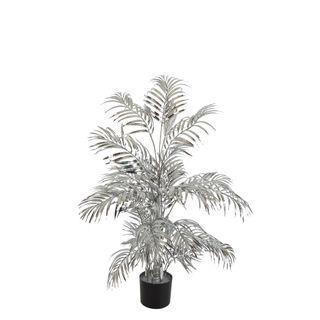 Areca Palm 522 Leaves Metallic Silver
