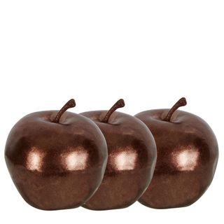 PRE-ORDER Decorative Apples Box of 12 Bronze
