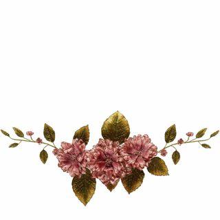 Flower Mini Garland Pink