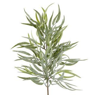 Frost Glitter Eucalyptus Spray Stem Green