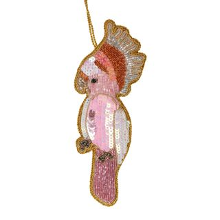 PRE-ORDER Galah Sequin Hanging Decoration