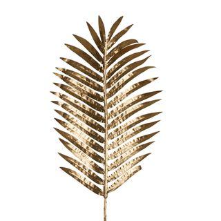 Golden Palm Leaf Single