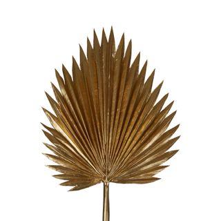 Metallic Fan Palm Stem Gold