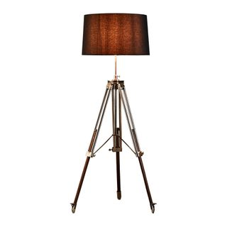 Loft Base Only - Brushed Nickel - Tripod Floor Lamp Base Only