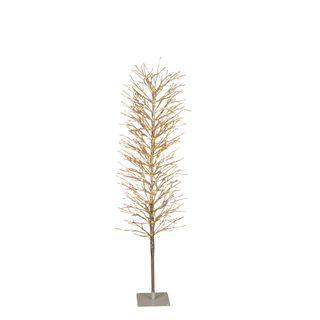 Light Up Branch Tree 150cm Silver 640 Lights