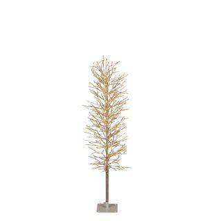 Light Up Branch Tree 120cm Silver 480 Lights