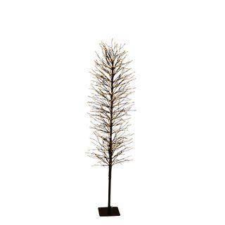 Light Up Branch Tree 150cm Black 640 Lights
