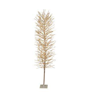 Light Up Branch Tree 180cm Silver 800 Lights
