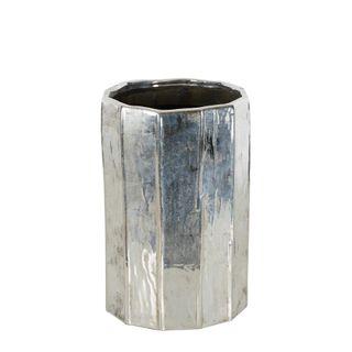 Chloe Silver Vase Large