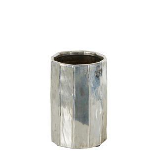 Chloe Silver Vase Small