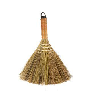 Bamboo Straw Broom Small