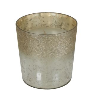 PRE-ORDER Glitter Mercury Glass Wax Candle Large