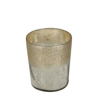PRE-ORDER Glitter Mercury Glass Wax Candle Small