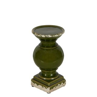 Montreal Candle Holder Small Olive