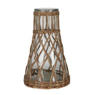 Santorini Rattan Vase Natural