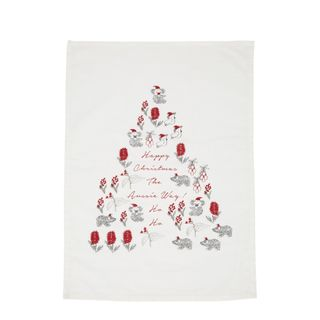 PRE-ORDER Native Christmas Tree Tea Towel
