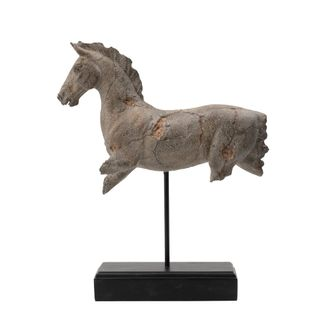Caballo Horse Statue on Stand