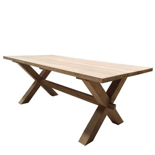 Zambia Recycled Teak Dining Table