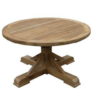 Xena Recycled Teak Round Table