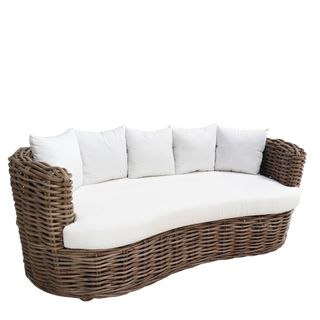 Manfred Rattan Two Seater Sofa