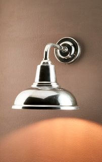 Seabrook Wall Light Antique Silver