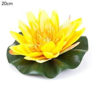 Floating Waterlily 20cm Yellow