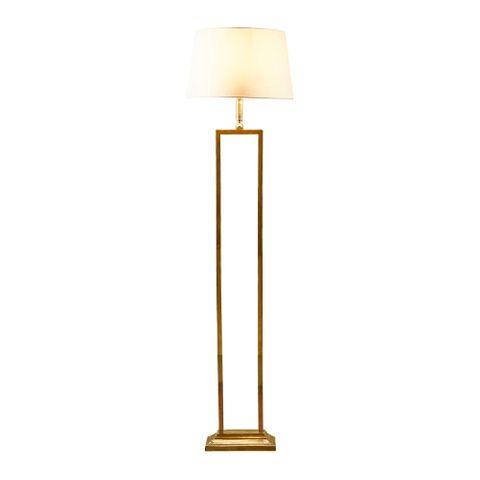 Hamilton Floor Lamp Antique Brass