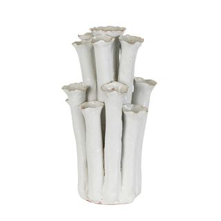 Tubular Vase White
