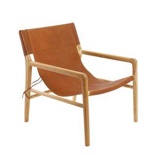 Ayun Chair Leather Tan