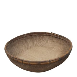 Shanxi Elm 100 Year Old Wooden Reed Baskets